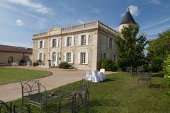Altes Villenhaus in Frankreich Stockfoto