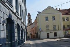 Altes Vilnius Lizenzfreies Stockfoto
