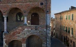Altes Volterra in Italien Lizenzfreie Stockfotos
