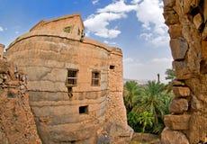 Altes von Oman Haus Stockbild