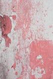 Altes Wandbeschaffenheitsschmutz-Hintergrund, rosa und weißes Schmutz backg Stockfotografie