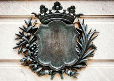 Altes Wappen Stockfotografie