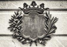 Altes Wappen Lizenzfreies Stockbild