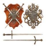 Altes Wappen Lizenzfreie Stockbilder