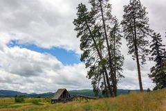 Altes Washington Farm Lizenzfreies Stockfoto