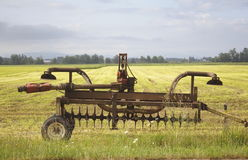 Altes Washington Farm Plow Lizenzfreies Stockbild