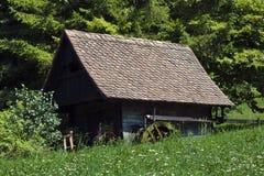 Altes Wasser millhouse Lizenzfreie Stockbilder