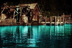Altes Wasser-Tausendstel Lizenzfreie Stockbilder