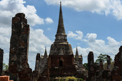 Altes wat in Thailand lizenzfreie stockfotografie