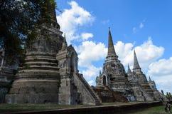 Altes wat in Thailand lizenzfreies stockfoto