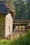 Altes watermill Stockfoto