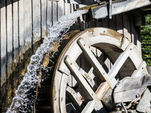 Altes watermill Lizenzfreies Stockbild
