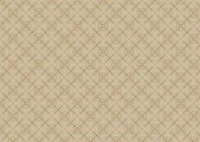 Altes weißes Spitze-Steppdecke-Muster stock abbildung