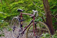 Altes Weinlesefahrrad Stockbild