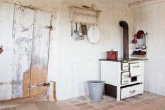 Altes Weinleseküche zu dieser Zeit - Foto auf Lager Lizenzfreies Stockbild