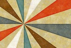 Altes Weinlesezeichnungsbild mit Streifen. Papierbeschaffenheit backgrou Stockbild