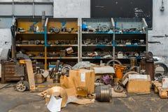 Altes Werkzeugnahaufnahmefoto Stockbilder
