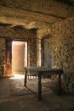 Altes westliches Gefängnis lizenzfreies stockfoto