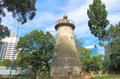 Altes Windmühlen-Observatorium Brisbane Australien Stockbilder