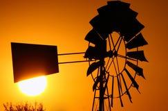 Altes windpump Lizenzfreies Stockfoto