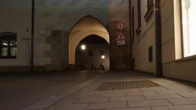 altes Wohnsitz munick Bayern hof nightime ändern lizenzfreies stockbild