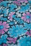Altes woolen Gewebe, farbiges Gewebe Stockbilder