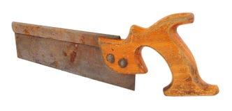 Altes Zapfen-Holz sah stockbilder