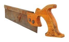Altes Zapfen-Holz sah stockbild