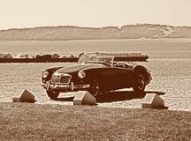 Altes Zeiten cabrio Stockbild
