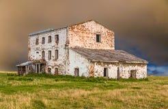 Altes zerstörtes Haus Stockbild