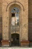 Altes Ziegelsteingebäude Stockfotografie