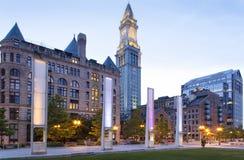 Altes Zollamt Bostons Lizenzfreies Stockbild