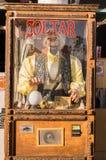 Altes Zoltar Spielautomat auf Venedig-Strand, Los Angeles Stockfotos