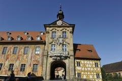 altesbamberg rathaus Arkivbilder