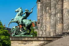 Altesmuseum (museum av forntider) Royaltyfria Bilder