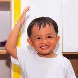 Altezza del bambino Fotografie Stock