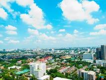 Altezza del cielo dalla centrale della Tailandia Fotografie Stock