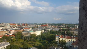 Altezza della città di panoramica Immagine Stock Libera da Diritti