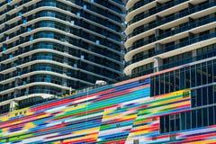 Altezze Miami di Brickell fotografie stock libere da diritti