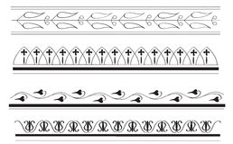 Altgriechische Randauslegungen 2 Stockbild