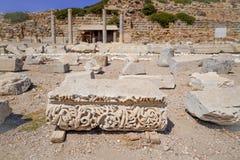 Altgriechische Stadt von Caria und Teil Dorian Hexapoliss lizenzfreies stockbild
