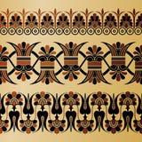 Altgriechische Verzierung Stockfoto