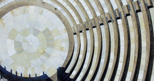 Altgriechischer Amphitheatre in IOS-Insel, Griechenland Lizenzfreie Stockbilder