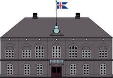 Althing parlament i Reykjavik, Island Royaltyfri Foto