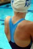 althletic游泳者年轻人 免版税库存图片