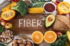 Alti alimenti della fibra fotografia stock
