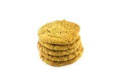 Alti biscotti impilati Fotografia Stock Libera da Diritti