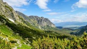 Alti Tatras - Ostrva Immagini Stock Libere da Diritti