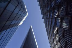 Alti uffici di aumento a Londra fotografie stock