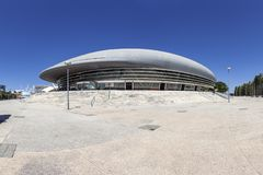 Altice arena aka Meo lub Pavilhao Atlantico pawilon Obrazy Stock